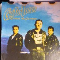 Música de colección: HOJA REVISTA GRUPO MUSICAL GATOS LOCOS. Lote 174272103