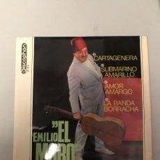 Música de colección: EMILIO EL MORO. Lote 175234573