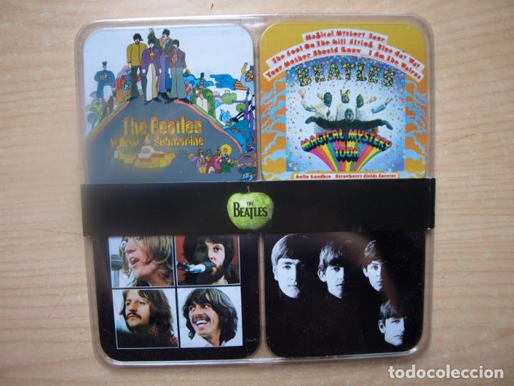 Música de colección: 12 POSAVASOS DE LOS BEATLES - CON LAS CARATULAS DE SUS DISCOS - AÑO 2009 - Foto 2 - 175317645
