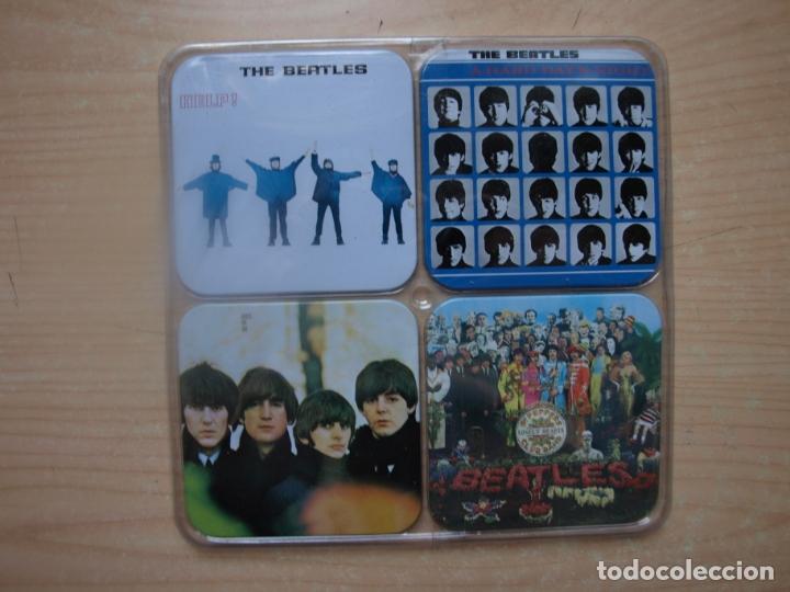 Música de colección: 12 POSAVASOS DE LOS BEATLES - CON LAS CARATULAS DE SUS DISCOS - AÑO 2009 - Foto 4 - 175317645