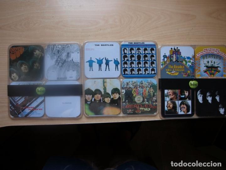 12 POSAVASOS DE LOS BEATLES - CON LAS CARATULAS DE SUS DISCOS - AÑO 2009 (Música - Varios)