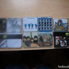 Música de colección: 12 POSAVASOS DE LOS BEATLES - CON LAS CARATULAS DE SUS DISCOS - AÑO 2009. Lote 175317645