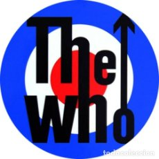 Musique de collection: IMAN/MAGNET THE WHO . PETE TOWNSHEND KEITH MOON ROGER DAL TREY MOD SMALL FACES. Lote 257910660