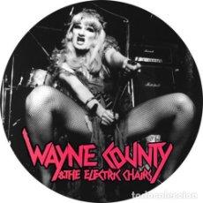 Musique de collection: IMAN/MAGNET WAYNE COUNTY & THE ELECTRIC CHAIRS . PUNK CBGB DICTATORS LOU REED. Lote 175556785