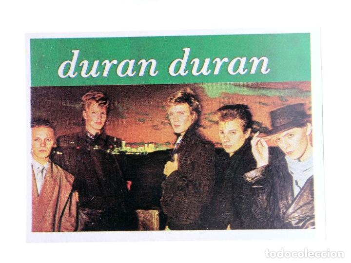 CROMO SUPER MUSICAL 111. DURAN DURAN (DURAN DURAN) EYDER, CIRCA 1980 (Música - Varios)