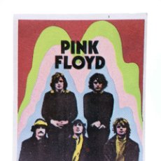 Musique de collection: CROMO SUPER MUSICAL 1. PINK FLOYD. EYDER, CIRCA 1980. Lote 200883718