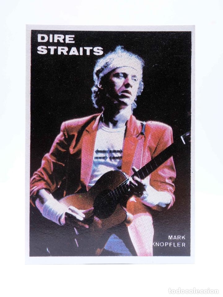 CROMO SUPER MUSICAL 36. DIRE STRAITS. EYDER, CIRCA 1980 (Música - Varios)