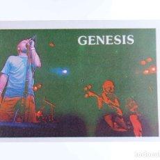 Música de coleção: CROMO SUPER MUSICAL 45. GÉNESIS. EYDER, CIRCA 1980. Lote 232216050