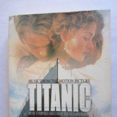Música de colección: SOUNDTRACK FROM TITANIC - CAJA VACIA (SIN CD) (EMPTY BOX) 1997 JAPAN + LIBRO (BOOK) 56 PAGINAS. Lote 176272364