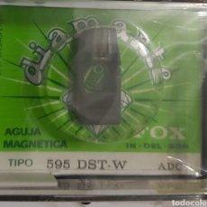 Música de colección: AGUJA TOCADISCOS ADC 595 - DST-W - FOX/DIAMANTE. Lote 176298348
