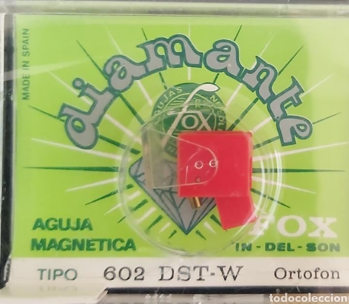 AGUJA TOCADISCOS ORTOFON 602 - DST-W - FOX - DIAMANTE (Música - Varios)