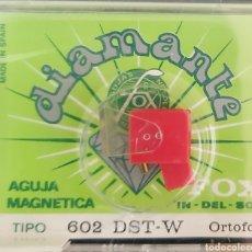 Música de coleção: AGUJA TOCADISCOS ORTOFON 602 - DST-W - FOX - DIAMANTE. Lote 176381670