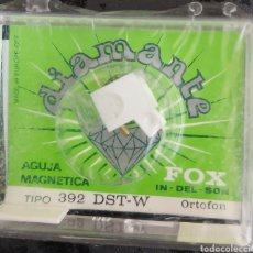 Musique de collection: AGUJA TOCADISCOS ORTOFON 392-DST-W - FOX-DIAMANTE. Lote 176377160