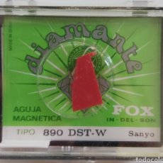 Música de colección: AGUJA TOCADISCOS SANYO 890 - DST-W- FOX/DIAMANTE. Lote 176503538
