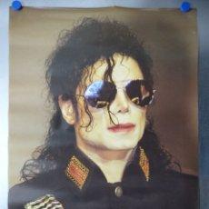 Música de colección: POSTER MICHAEL JACKSON - AÑOS 1980 - PRINTED EN ITALY - 91X61 CM.. Lote 176556809