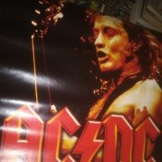 Música de colección: POSTER AC DC LIVE AT DONINGTON 90CM X 61 CM. Lote 177187534