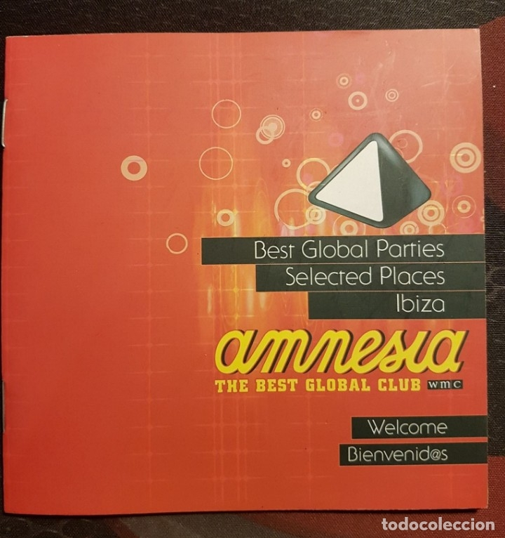 AMNESIA IBIZA - LIBRETO GRAPA - BEST GLOBAL PARTIES - SELECTED PLACES (Música - Varios)