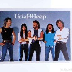 Música de coleção: CROMO SUPER MUSICAL 49. URIAH HEEP. EYDER, CIRCA 1980. Lote 232216065