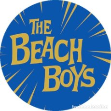 Musique de collection: CHAPA/BADGE THE BEACH BOYS . PIN BUTTON BRIAN WILSON SURF BEATLES VENTURES. Lote 177697592