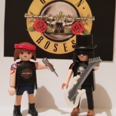 Musique de collection: PLAYMOBIL AXEL AXL ROSE Y SLASH GUNS AND ROSES SWEET CHILD APETITE FOR DESTRUCTION. Lote 235688075