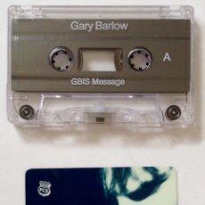 Música de colección: GARY BARLOW TAKE THAT CASETTE Y TARJETA CLUB DE SOCIO. Lote 178239197
