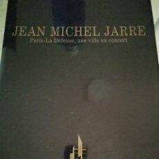 Música de colección: PARIS-LA DÉFENSE, UNE VILLE EN CONCERT(JARRE, JEAN MICHEL). Lote 178360811
