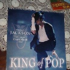 Música de colección: MICHAEL JACKSON- CALENDARIO OFICIAL DANILO 1997. Lote 178367881
