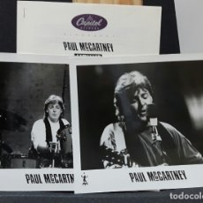 Música de colección: PAUL MCCARTNEY - BEATLES - UNPLUGGED - PRESS KIT PROMOCIONAL - USA - CAPITOL - 1991 - MUY RARO. Lote 178869158