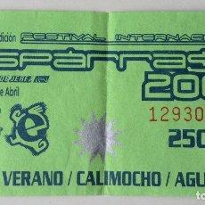 Música de colección: ESPÁRRAGO ROCK 2000 VALE CALIMOCHO MUNSTER TOURING GRANADA. Lote 178906782