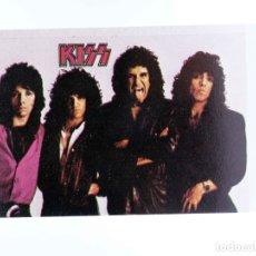 Musique de collection: CROMO SUPER MUSICAL 44. KISS. EYDER, CIRCA 1980. Lote 194984262