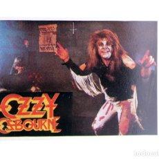 Música de coleção: CROMO SUPER MUSICAL 54. OZZY OSBOURNE. EYDER, CIRCA 1980. Lote 239892380