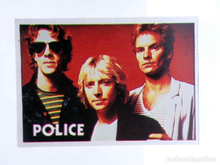 CROMO SUPER MUSICAL 71. THE POLICE. EYDER, CIRCA 1980 (Música - Varios)