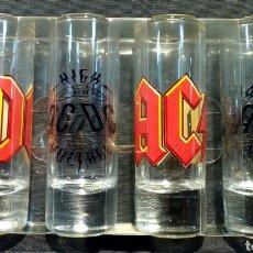Música de colección: SET 4 CHUPITOS AC/DC. NUEVOS. Lote 179309982