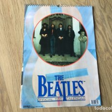Música de colección: CALENDARIO OFICIAL 1991 THE BEATLES DE APPLE CORPS LIMITED. Lote 179523255