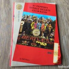 Música de colección: LIBRO DE FOTOS SGT. PEAPER'S DE THE BEATLES. Lote 179523490
