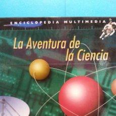Musica di collezione: CD. LA AVENTURA DE LA CIENCIA. ENCICLOPEDIA MULTIMEDIA 12 CDS. LA VANGUARDIA. Lote 179945212