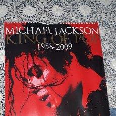 Música de colección: MICHAEL JACKSON-CALENDARIO OFICIAL DANILO- 2009-2010-SEALED-PRECINTADO. Lote 180169788