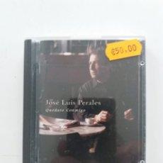 Música de colección: JOSE LUIS PERALES - QUÉDATE CONMIGO (MINIDISC, SONY). Lote 180254300