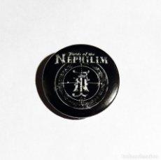 Música de colección: FIELDS OF THE NEPHILIM - LOGO CHAPA 31MM (CON IMPERDIBLE) - ROCK GÓTICO. Lote 180278165