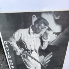 Música de colección: CARTEL DAVID BOWIE GIRA TOUR 1990. ORIGINAL. MÚSICA. MEDIDAS: 88 X 63 CMS. CONCIERTO DE BARCELONA. Lote 117378471