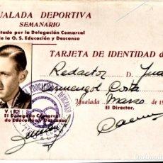 Música de colección: THE BEATLES,CARNET ORIGINAL PRIMER PERIODISTA DE RADIO QUE LOS ENTREVISTO.CONCIERTO BARCELONA 1965. Lote 182045127