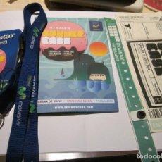 Música de colección: SEX PISTOLS EN BARCELONA 19 JULIO 2008 - SUMMER CASE - PACK DEL FESTIVAL - VER DESCRIPCION Y FOTOS.. Lote 183005583