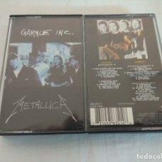 Música de colección: CASETE HEAVY METAL/METALLICA/GARAGE INC.. Lote 183271480