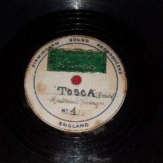 Música de colección: DISCO MAQUETA DE MONTSERRAT VERDAGUER - TOSCA - SOLO EL QUE SABE AMAR. Lote 183783807