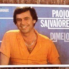 Música de colección: CROMO PAOLO SALVATORE - SHOW DE ESTRELLAS. Lote 184080095