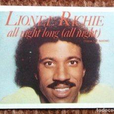 Música de colección: CROMO SUPER EXITO - LIONEL RICHIE - Nº 100. Lote 184094817