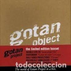 Música de colección: GOTAN OBJECT – THE WORLD OF GOTAN PROJECT IN A BOX – PLASTIFICADO – A ESTRENAR. Lote 187512280