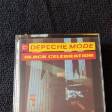 Música de colección: DEPECHE MODE..BLACK CELEBRATION...CASSETE 1986. Lote 190034293