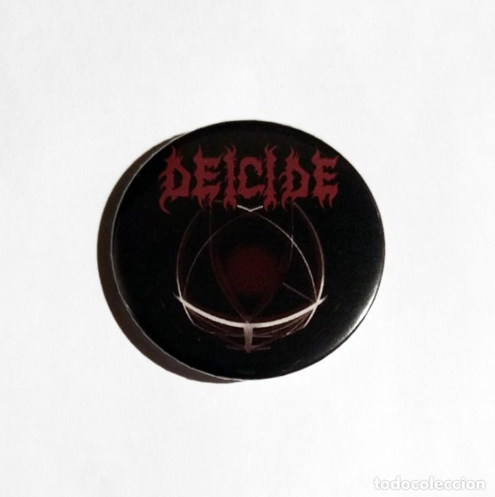 DEICIDE - LEGION CHAPA 59MM (CON IMPERDIBLE) - DEATH METAL (Música - Varios)