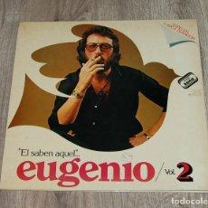 Música de colección: LP EUGENIO VOL. 2 EL SABEN AQUEL... - GRABACIÓN EN PUB SAUSALITO DE BARCELONA. Lote 192005648